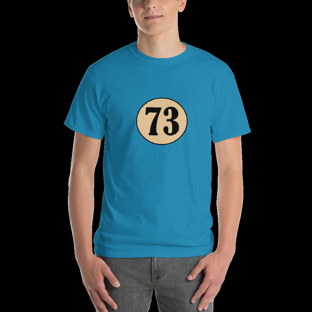 Number 73 Sheldon T-shirt. Online Store Web Design, FutureProof Digital.