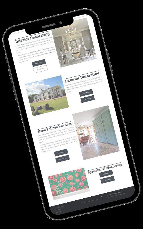 Web Design Page Image 2