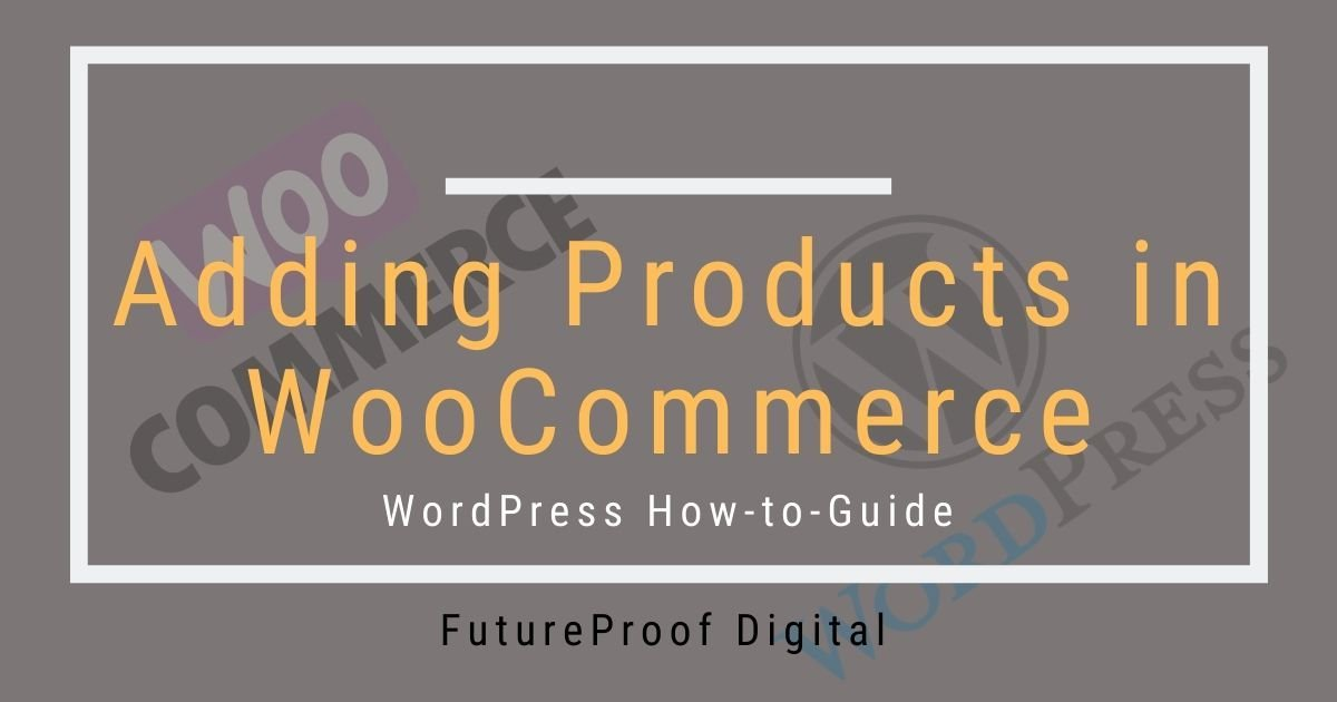 Adding Products in WooCommerce Post Featured Image