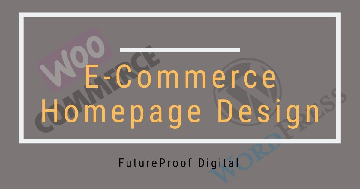 E-Commerce Homepage Design Featured Image