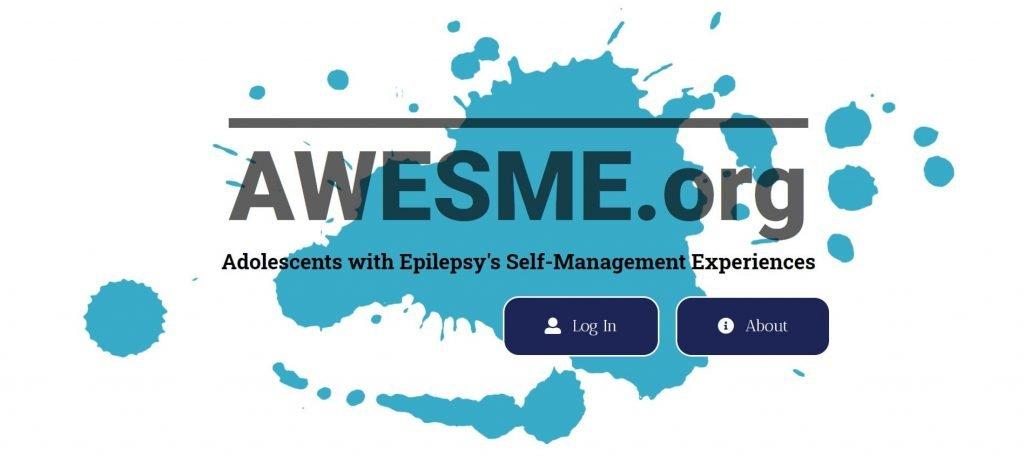 Academic Research Website Homepage