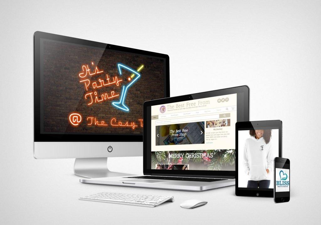 Web Design in Castlerea Screen Mock-up